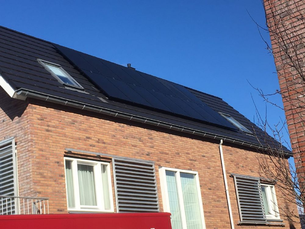 14 zonnepanelen all black Trina solar 295WP met solaredge optimizers