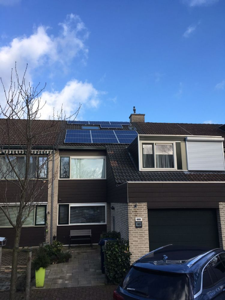 10 Zonnepanelen Trina solar met solaredge optimizers