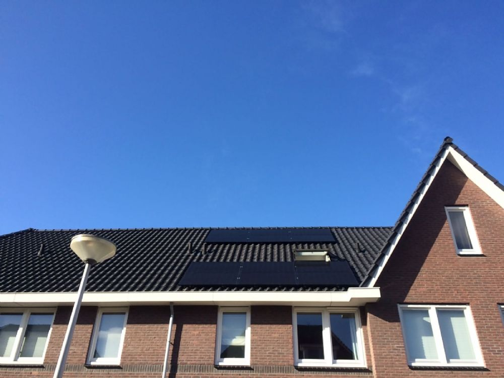 12 x Trina solar all black 275WP met solaredge optimizers