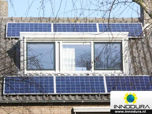 6 zonnepanelen Trina solar 275WP + growatt 1500S