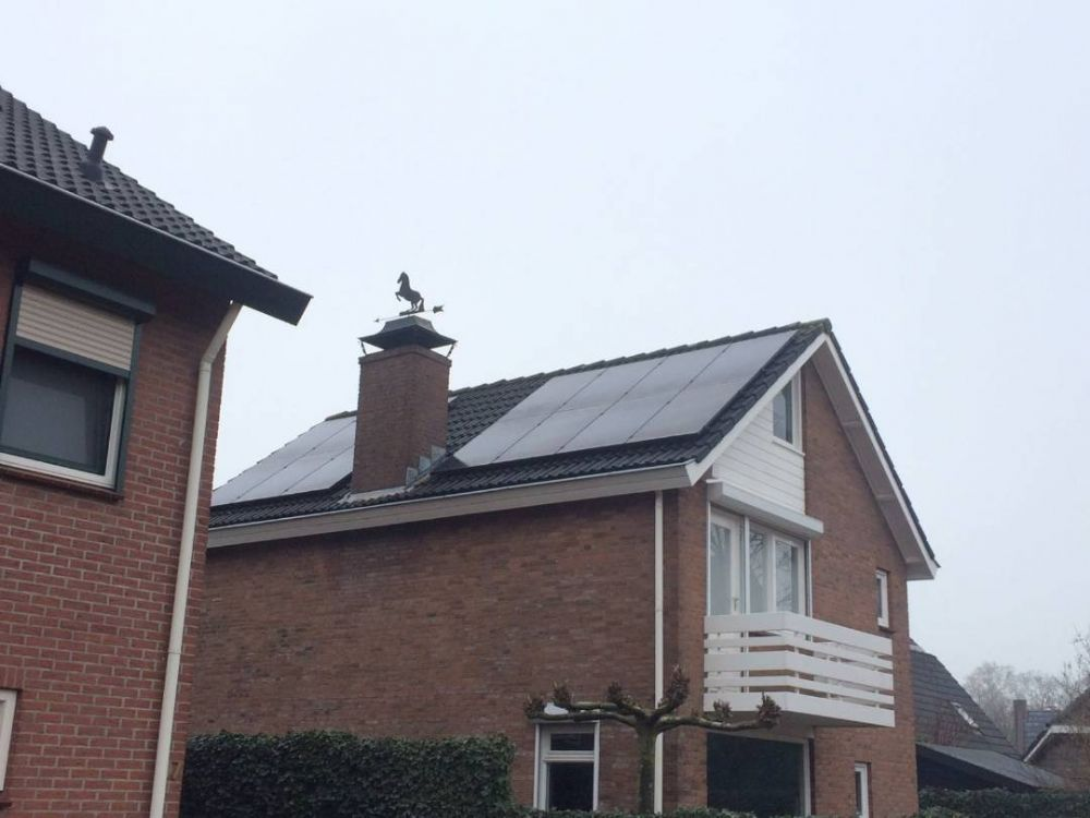 14 Zonnepanelen Trina solar 275WP all black met solaredge optimizers